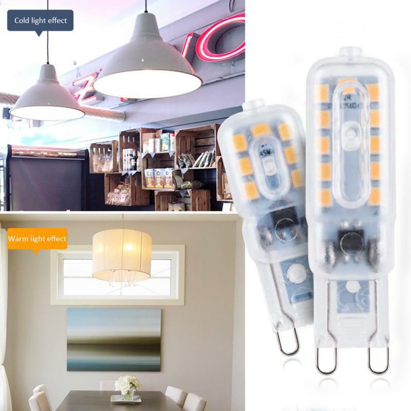 GreenEye LED G9 빛 220V 3w/5w 전구 모든 g9를위한 에너지 절약 보충 전통적인 할로겐 전구 할로겐 램프