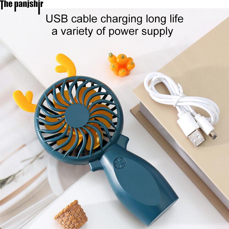 Neue Mini Fan Tragbare für fans Handheld USB aufladbare fans Geräte Desktop Luftkühler Outdoor Reise hand Boden Stehen Fans