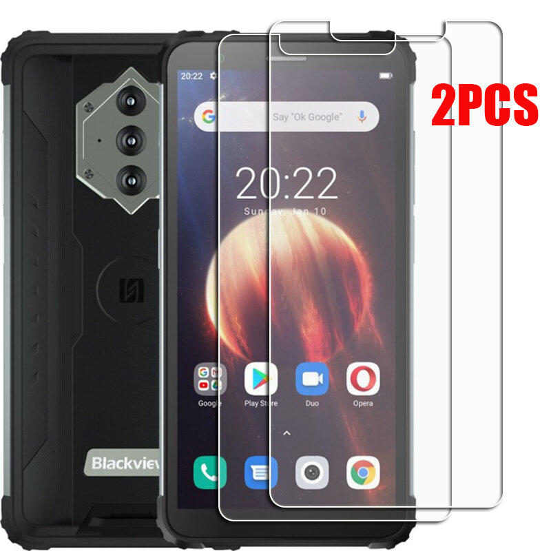 For Blackview BV6600 Tempered Glass Protective ON BlackviewBV6600 5.7INCH Screen Protector Phone Cover  Film