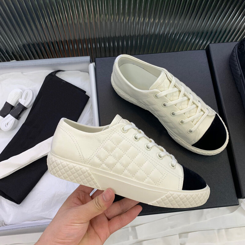Color Matching England Sneakers Summer Women Casual Shoes Ladies Sandal Shoes Flat Casual Slides Shoes for Women Sneakers