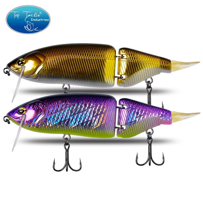 CF Lure Jointed เหยื่อ135Mm 33G/165มม.60G Swimbait Fishing Lures Hard Body เบสลอย pike เหยื่อตกปลา