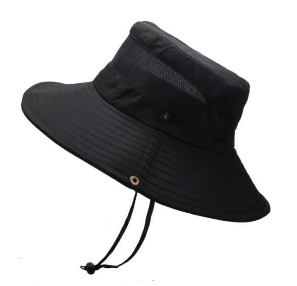 ฤดูร้อนฤดูใบไม้ร่วงแฟชั่นหมวก Sun พับสำหรับชายหมวกกลางแจ้ง Anti-UV หมวกปีกกว้างผู้หญิงเดินป่าหม...