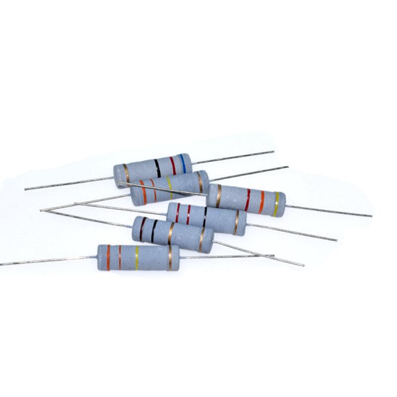 Kit de Resistencias de 1W/Watt 29 valores X 10 uds, paquete de Resistencias, resistencia de película de carbono 1-290 Ohm 1-W, juego de película de carbono, 100 Uds.