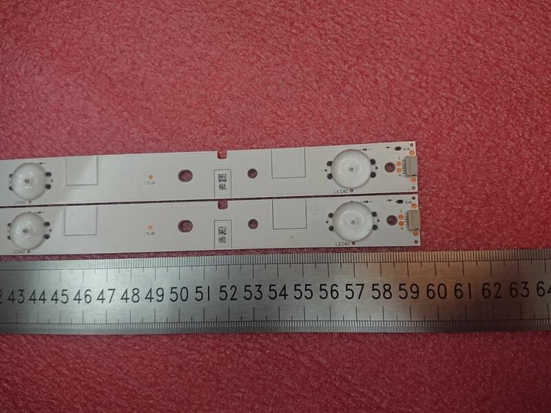 Nuevo Kit, 2 uds., tira de LED para iluminación trasera 5LED de 595mm para LED32EC260JD LED32K20JD SVH320AG8 SVH320AH2_WICOP_5LED