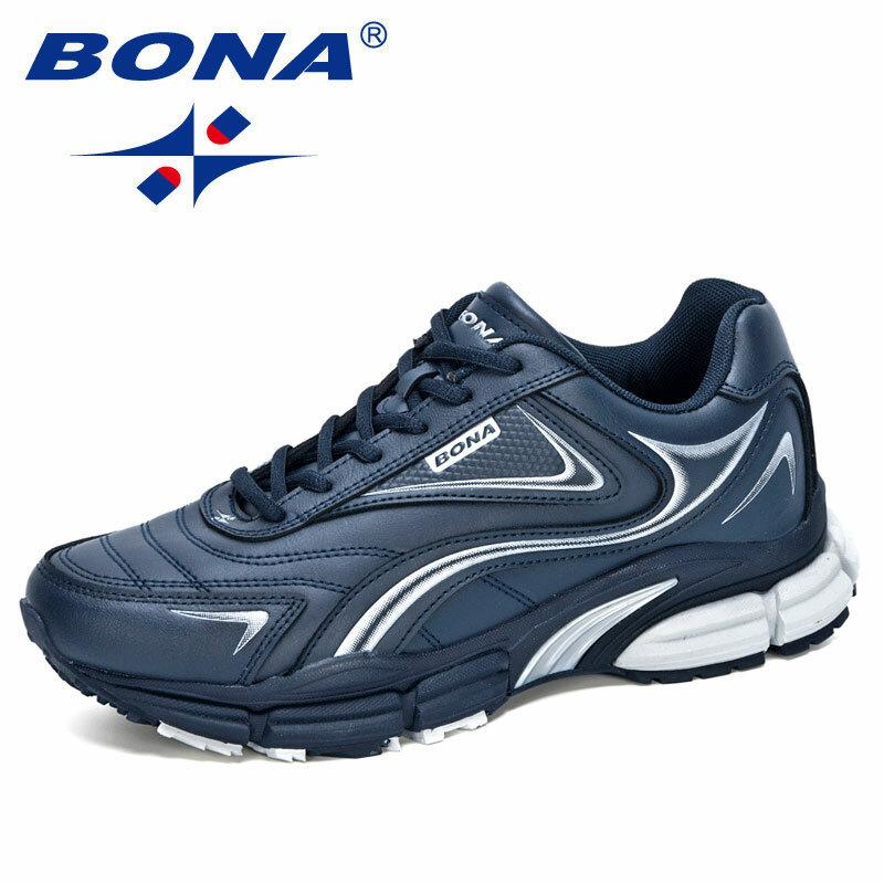 BONA – chaussures de marche en cuir pour hommes, baskets d'extérieur, de loisirs, de créateurs, tendance, nouvelle collection 2020