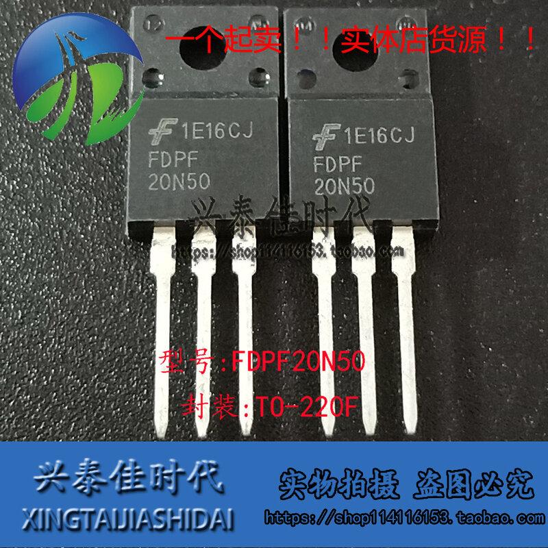 الأصلي جديد 5 قطعة/FDPF20N50 20N50 20A/500V TO-220F