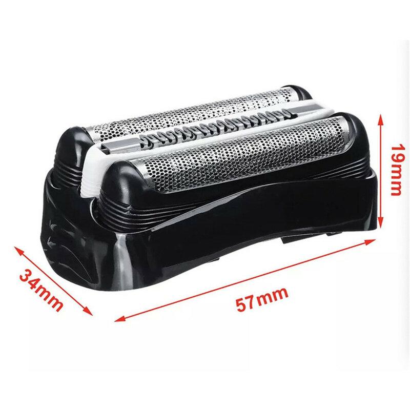 면도기 블레이드 면도기 교체 면도기 호일 헤드 부품 커터 액세서리 Braun Razor 32B 32S 21B 21S 3 Series