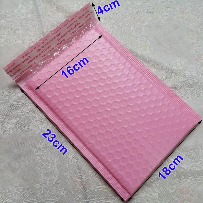 25pcs 50pcs Pink180x230mm Poly bubble Mailer buste rosa imbottito Mailing Sacchetto Autosigillante