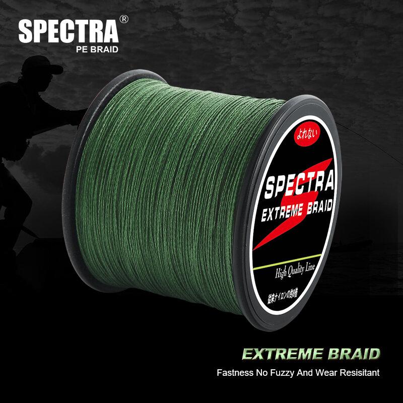 SPECTRA — Ligne de pêche tressée, pêche pesca 10LB-80 LB, multifilament, super forte, 300 m/500 m/1000 m