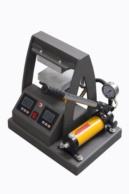 고압 이중 가열 플레이트 유압 로진 프레스 기계