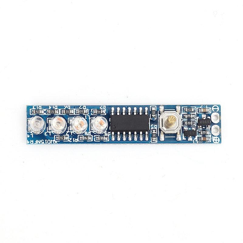 مؤشر قدرة بطارية ليثيوم واحد لوحة عرض LED مؤشر مستوى طاقة لوحي لبطارية ليثيوم 18650