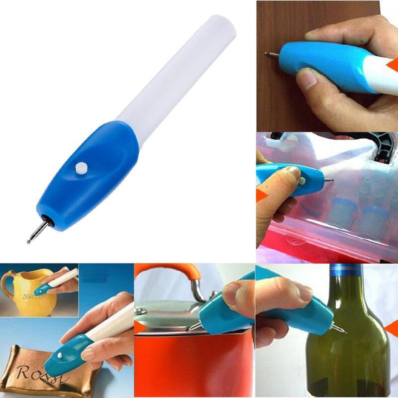 Mini grabador eléctrico de alta calidad, herramienta de tallado para joyería, bricolaje, Metal, vidrio, pluma de grabado