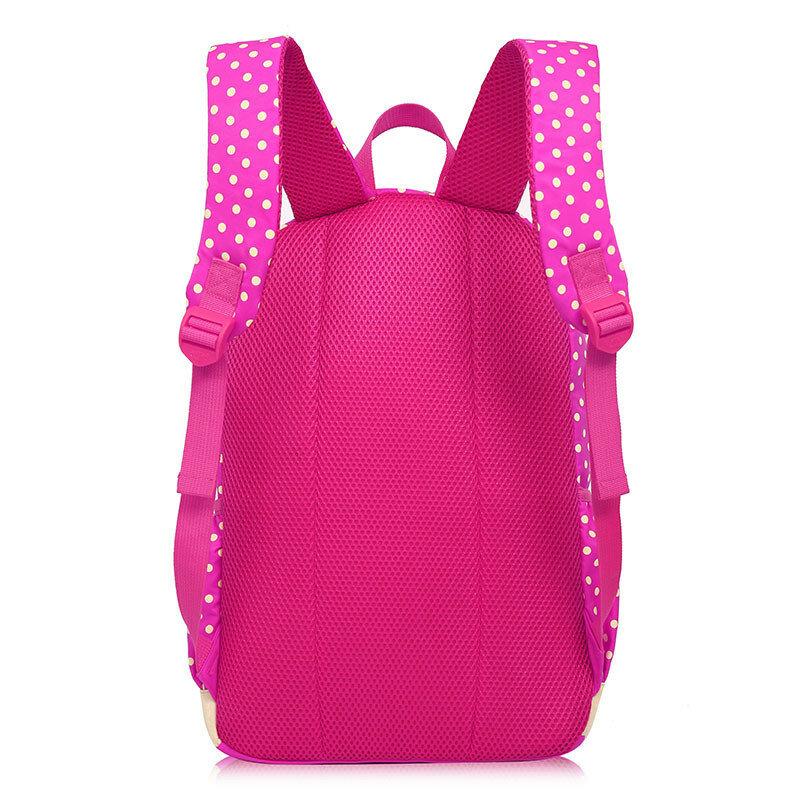 Schule Taschen für Jugendliche Mädchen Schul Große Kapazität Damen Dot Druck Schule Rucksack set Rucksack Bagpack Nette Buch Taschen