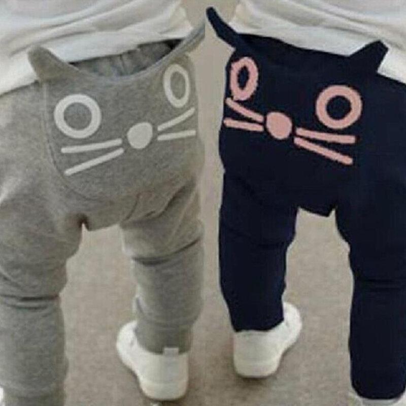 Carino Modello Del Fumetto Del Bambino Dei Pantaloni Dei Ragazzi Pantaloni Stile Harem Del Cotone Del Gufo Pantaloni Primavera E autunno