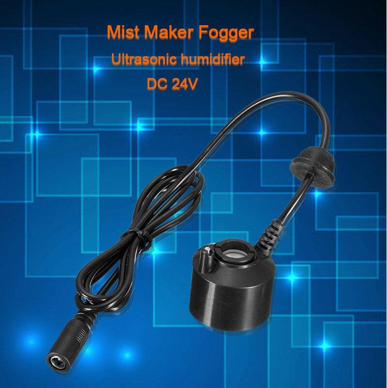 Nebulizador ultrasónico para fuente de agua, atomizador para estanque, humidificador, cabezal de pulverización para el hogar, 24V DC, 36mm