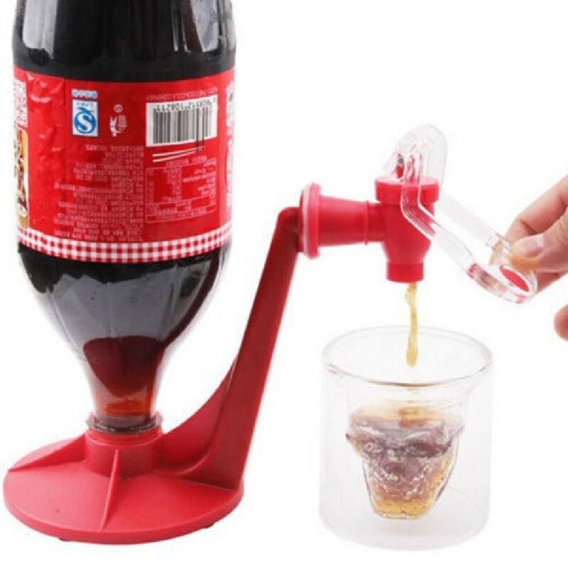 แฟชั่น Creative Home Bar โค้กฟองโซดาเครื่องดื่มเครื่องดื่มซอฟท์ Saver Dispenser ก๊อกน้ำใหม่