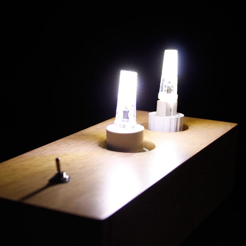 Bombillas LED Lampadina G9 G4 E14 220 V 3 W Lampada G4 HA CONDOTTO LA Lampada 2 W AC DC 12 V COB Luci Sostituire 25 W Lampada Alogena