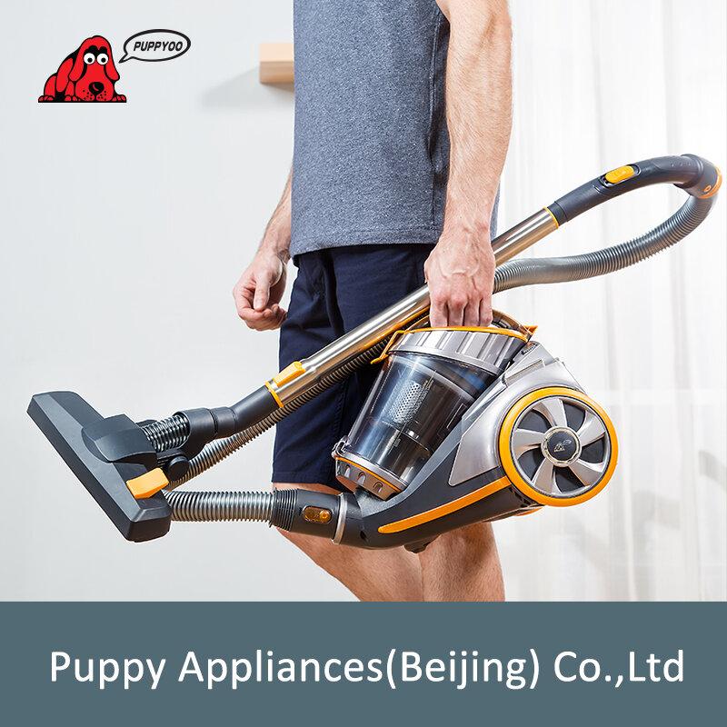 PUPPYOO المنزل علبة فراغ نظافة كبيرة شفط قدرة قوية الشافطة متعددة الوظائف تنظيف الأجهزة WP9005B