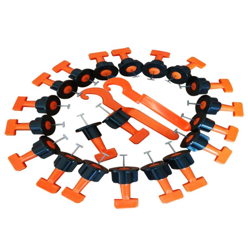 Espaciadores de azulejo para suelo cuñas de nivel, sistema de nivelación, espaciador, alicates, 100 unidades