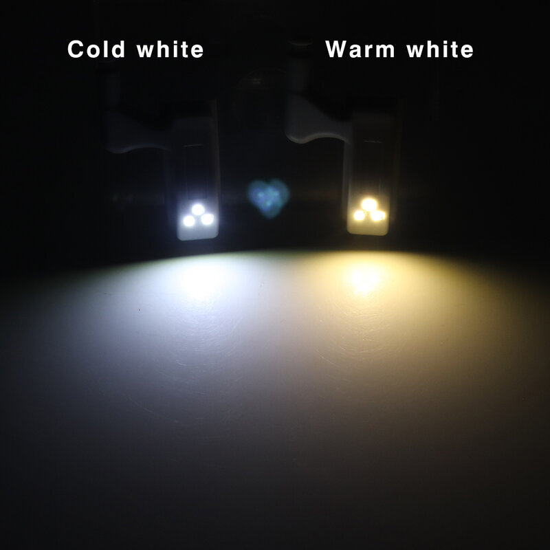 10PCS LED Intelligente Tocco di Induzione Luce del Governo Armadio Interno Cerniera del Sensore Della Lampada Della Luce di Notte di Luce per Armadio Guardaroba