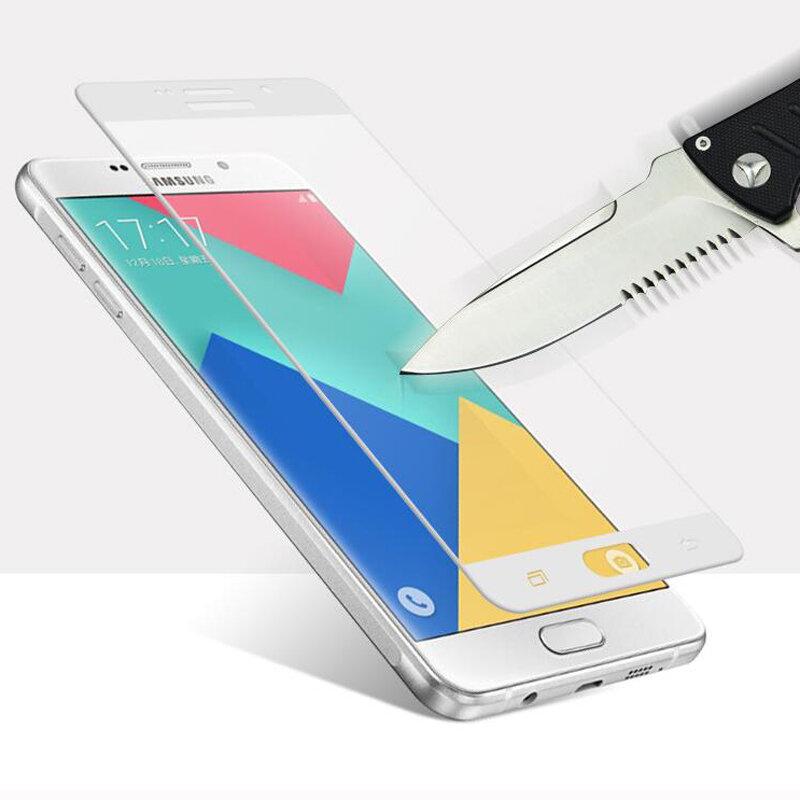 GerTong ป้องกันกระจกหน้าจอสำหรับ Samsung Galaxy J3 2017 J5 J7 2016 A5 A7 A3 2017 J5 สำคัญเต็มป้องกันฟิล์ม
