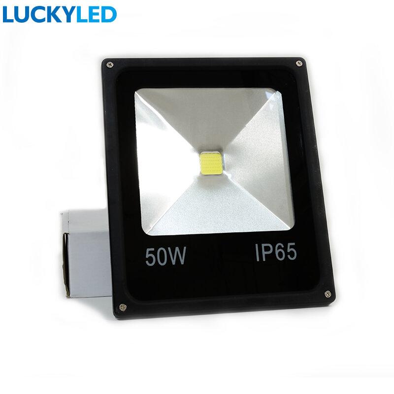 LUCKYLED LED Flutlicht 10W 20W 30W 50W AC 220V Wasserdichte IP65 Flutlicht Scheinwerfer Led reflektor Garten Außen Beleuchtung Lampe