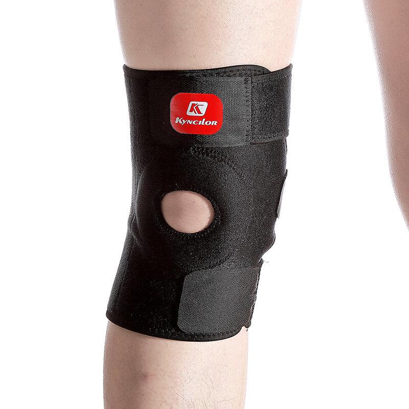 Arbot Hohe Qualität Patella Knie Pads Fußball Basketball Volleyball Schwarz Durable Knie Schienbein-schutzschutz Pad Kneepad Schwarz