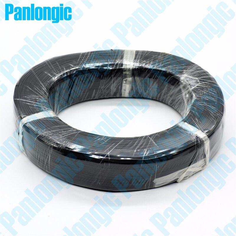 Panlongic 10 ألوان 5 متر UL1007 سلك 24awg 1.4 مللي متر PVC الإلكترونية كابل UL شهادة