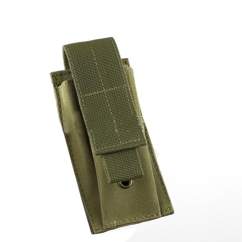 Military Molle Pouch Taktische Einzelnen Pistole Magazin Tasche Messer Taschenlampe Mantel Airsoft Jagd Ammo Camo Taschen