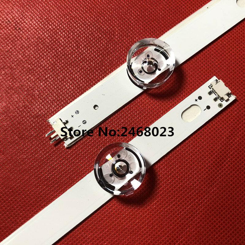 Tira de LED para iluminación trasera para LG 49LF580V 49LF6200 49LF620V 49LF6400 49LF6450 49LF6500 49LB552 49LB629V INNOTEK DRT 3,0 49