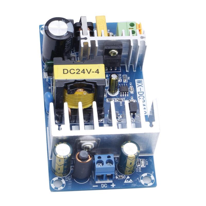 وحدة امدادات الطاقة AC 110v 220v إلى DC 24V 6A AC-DC امدادات الطاقة التبديل مجلس
