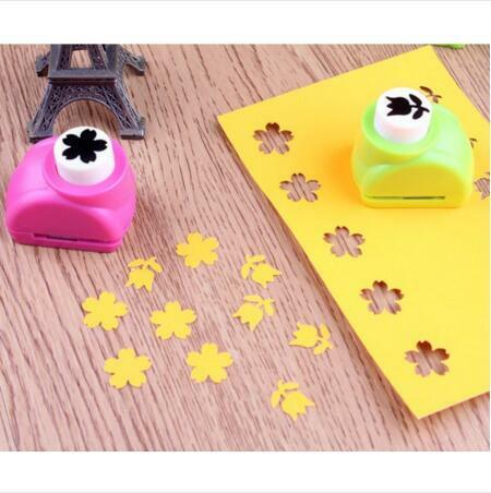 Mini Sammelalbum Schläge Handmade Cutter Karte Handwerk Kattun Druck Blume Papier Handwerk Punch Loch Puncher Form DIY Werkzeug