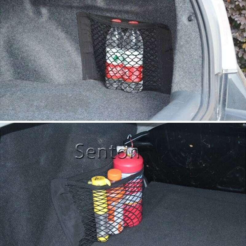 شبكة أمتعة صندوق السيارة ، لـ Volkswagen VW Polo Passat B5 B6 CC GOLF 4 5 6 Touran Bora Tiguan Peugeot 307 206 308 407 ، ملحقات