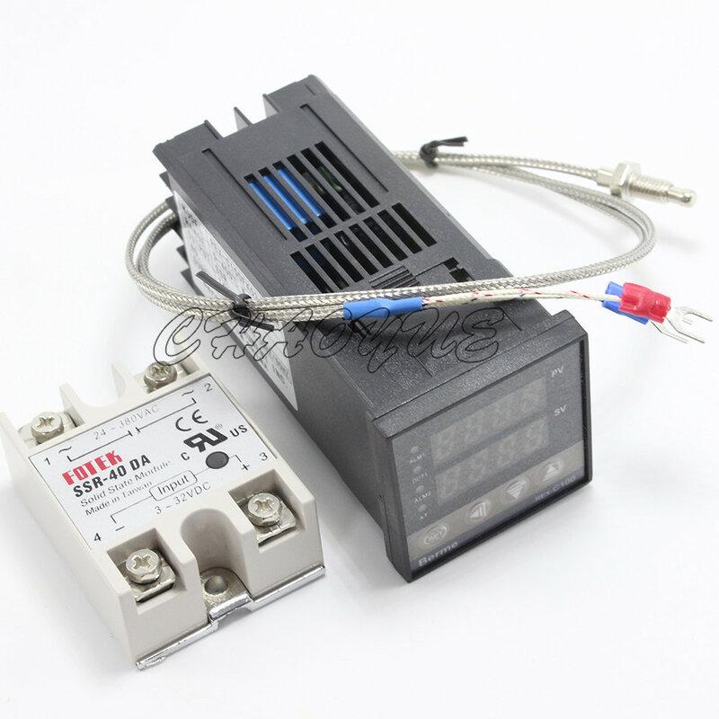 3-في-1 درجة الحرارة الرقمية ترموستات تحكم REX-C100