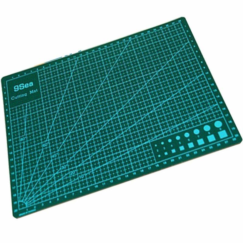 Tapis à découper et tapis à découper durables, Double face, 60cm x 45cm, A2, outil de bricolage, fournitures de bureau et papeterie, 1 pièce/lot