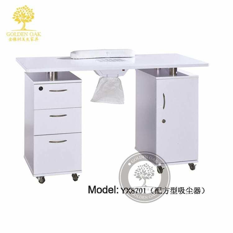 Europäischen nagel tisch. Koreanische maniküre tisch. Einzigen doppel nagel tisch stuhl.