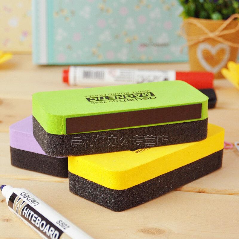 Hohe Qualität Magnetic Whiteboard Radiergummis Trocken Abwischbaren Marker White Board Reiniger Tücher Mit Schule Bürobedarf