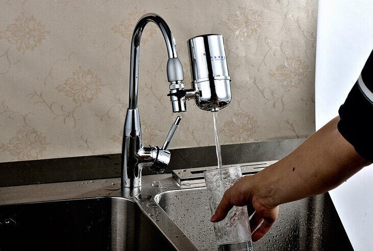 Grifo de carbón activado para cocina, filtro de agua para grifo con cartucho de carbón activado para el hogar, gran oferta