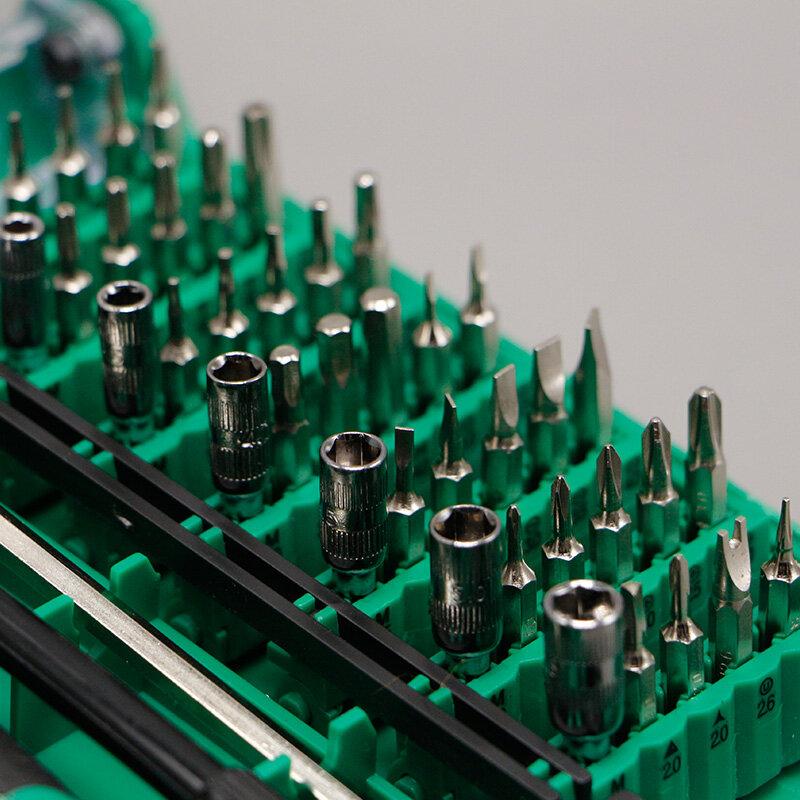 ใหม่ 9002 ไขควงแม่เหล็ก 45 In 1 Precision สกรูเครื่องมือ