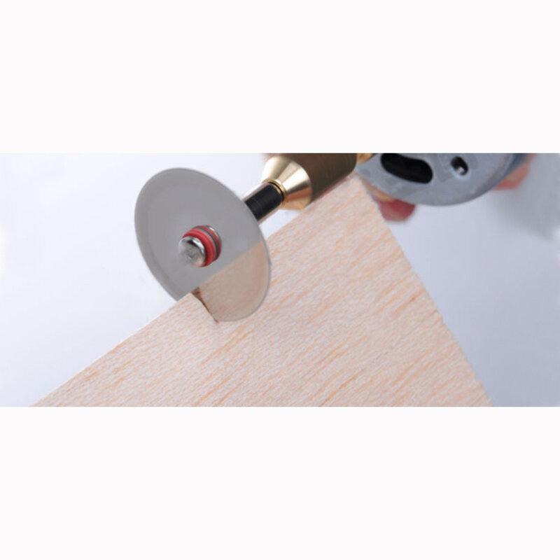 منشار دائري لأدوات النجارة ، 10 × 22 مللي متر ، قرص قطع فولاذي لأداة دريميل الدوارة ، شحن مجاني