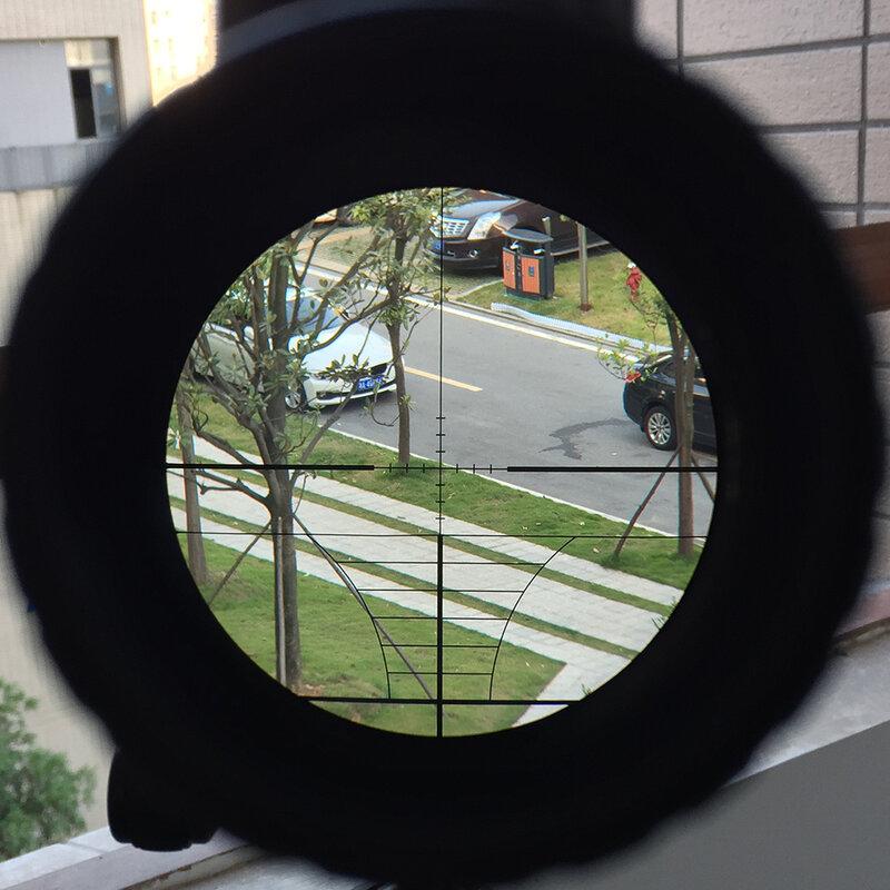 Ohhunt 4-12X50 ZB Jagd Zielfernrohr Taktische Rot Grün Dot Laser Anblick Holographische Optik Kampf Zielfernrohr für Schießen