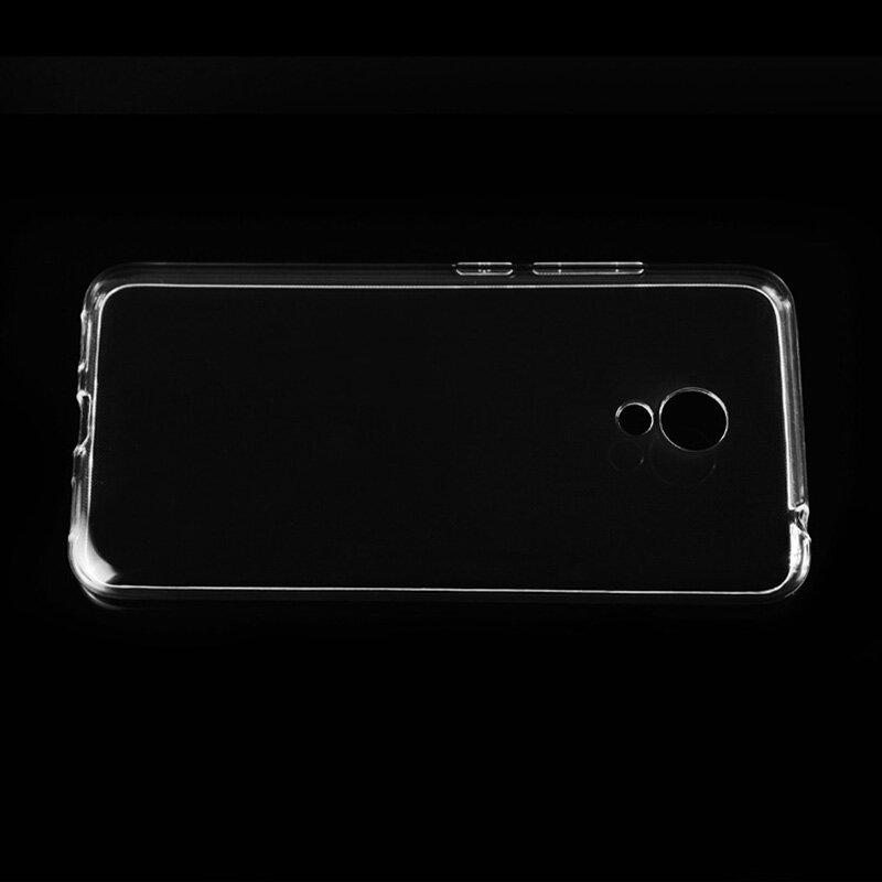 Meizu m3s حالة غطاء شفاف TPU لينة غطاء الهاتف حالة ل Meizu m5s الغطاء الخلفي حالة