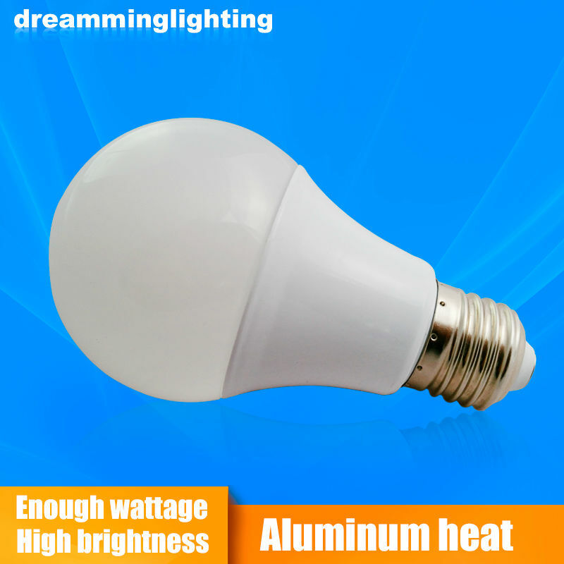 مصباح E27 Led ، قاعدة ألومنيوم 100 - 240 فولت ، إضاءة داخلية ، 3 واط ، 6 واط ، 9 واط ، 12 واط ، 15 واط ، 18 واط ، 21 واط ، أبيض بارد ودافئ