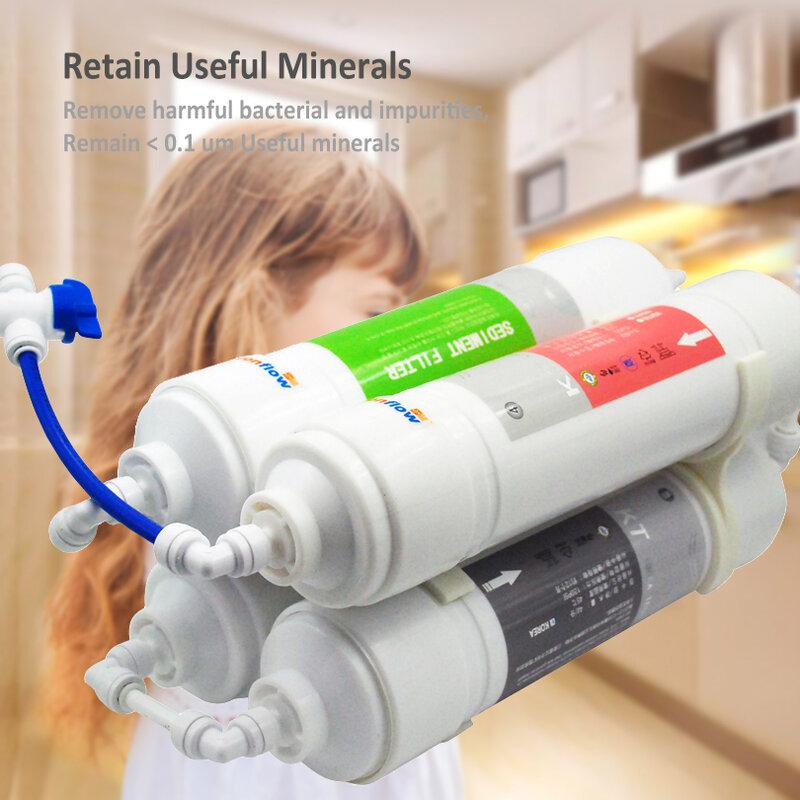 Purificateur d'eau Coronwater 4 étapes Portable système de filtration d'eau potable Ultrafiltration PUI-4
