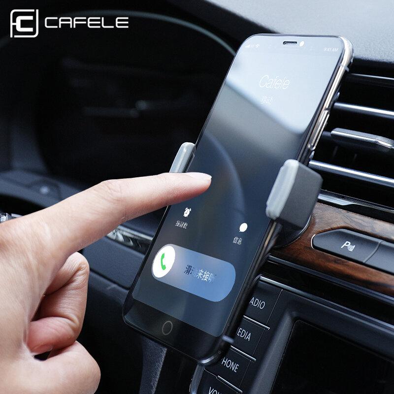 CAFELE Держатель Для Телефона ในรถสำหรับ Universal ผู้ถือขาตั้ง360ปรับ Air Vent Mount ตัดผู้ถือโทรศัพท์ GPS