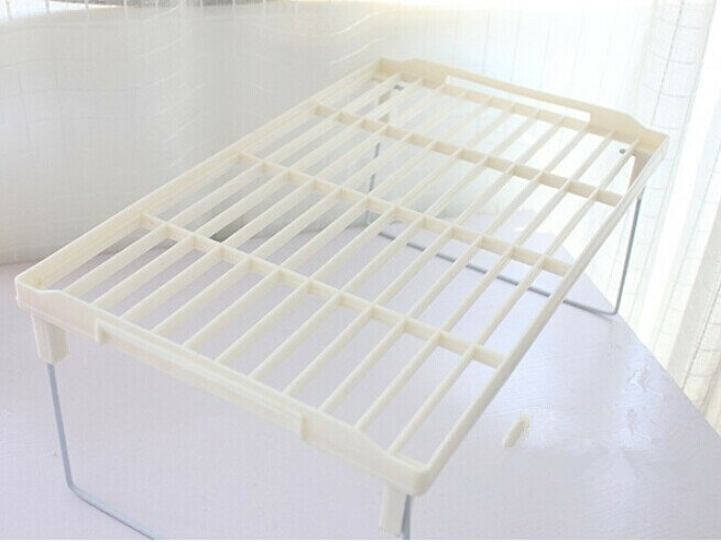 1PC Ablassen rack Multi überlagerung snap typ regal verstärkung verdickt faltbare küche diverse lagerung rack OK 0089