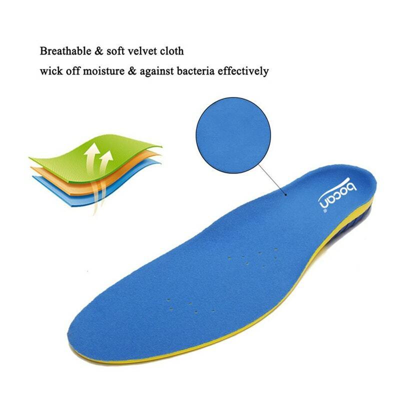 Solette per le scarpe massaggio scarpe inserti ortesi sottopiedi di cura di piede per fascite plantare solette traspiranti per gli uomini/donne