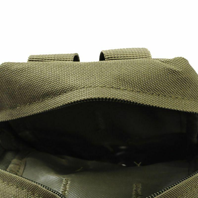 Travel ทหารล่าสัตว์กระเป๋าแพ็ค Molle กลางแจ้ง 600D ไนลอนกีฬากระเป๋า