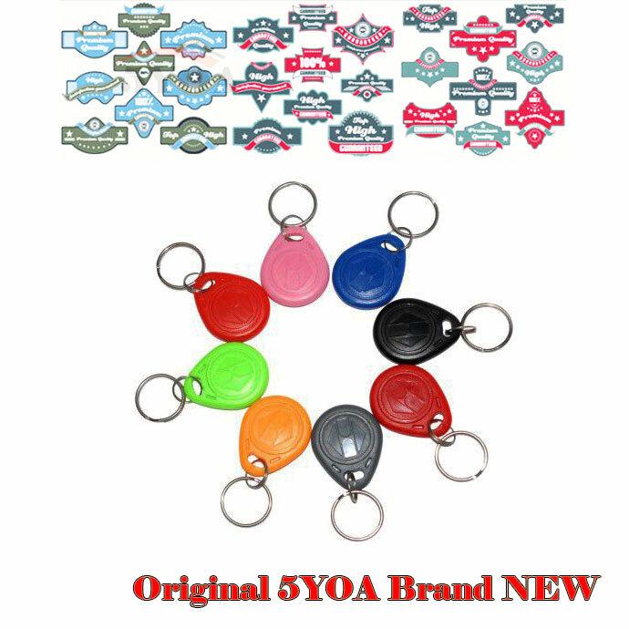 10 pz EM4305 Copia Riscrivibile Scrivibile Riscrittura di EM ID keyfobs RFID Tag Chiave Anello di Carta di 125 khz Di Prossimità Token di Accesso duplicare