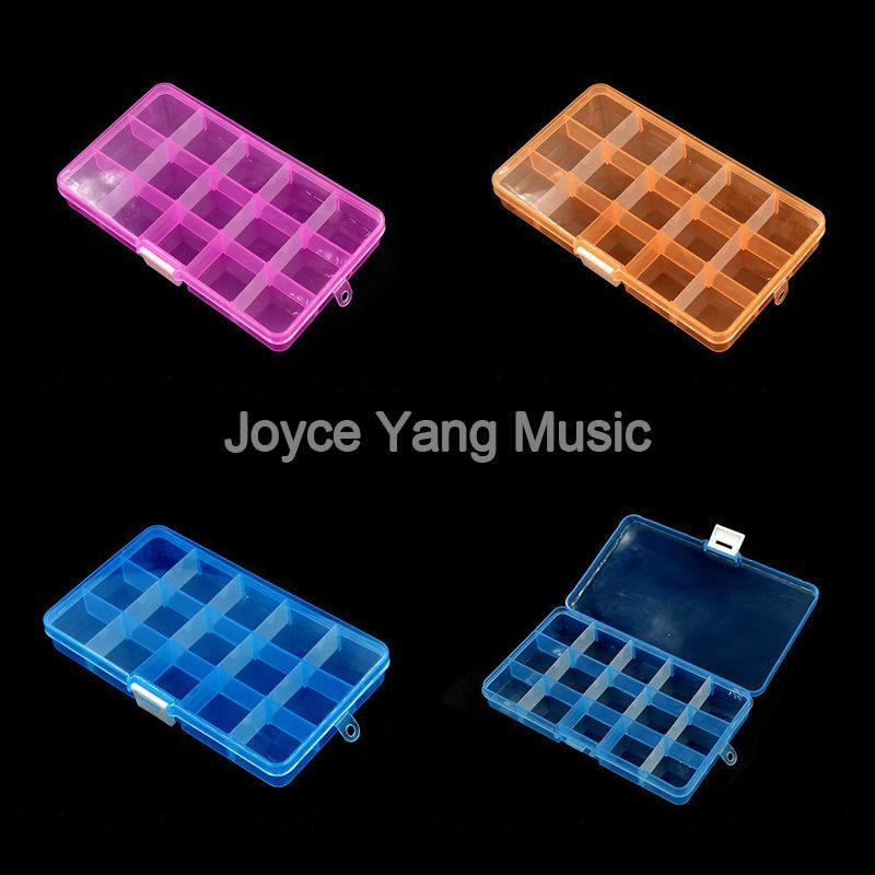 100 stücke Alice Akustische Elektrische Gitarre Plektren + 1 Große Kunststoff Gitarren-auswahl-halter-kasten-schwarz-leder Box Freies Verschiffen